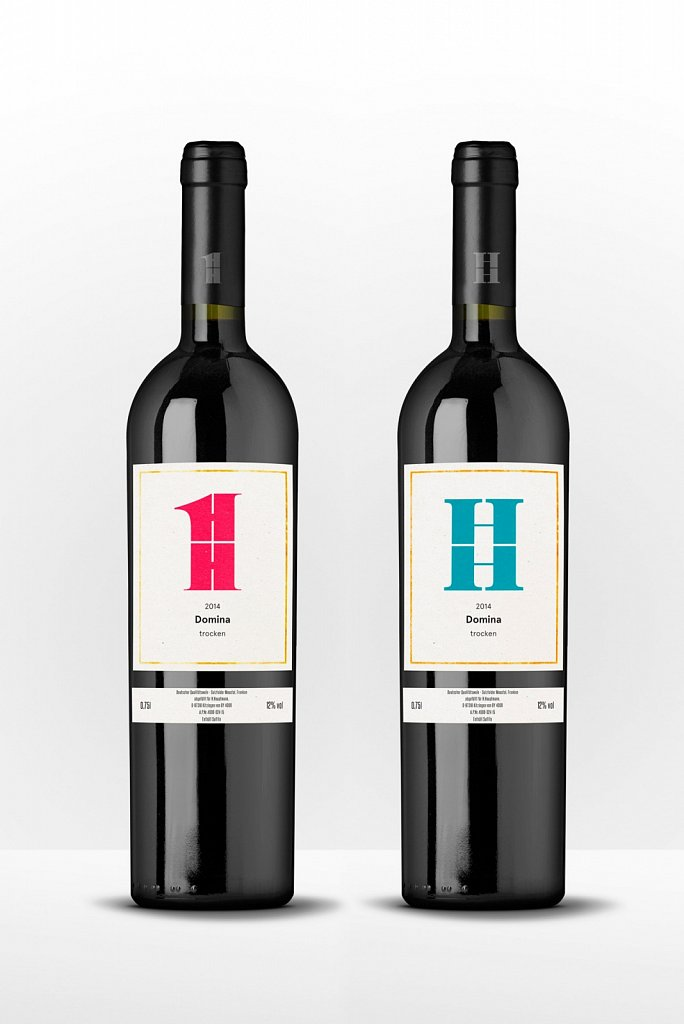 Weinflaschen HH1 & HH2